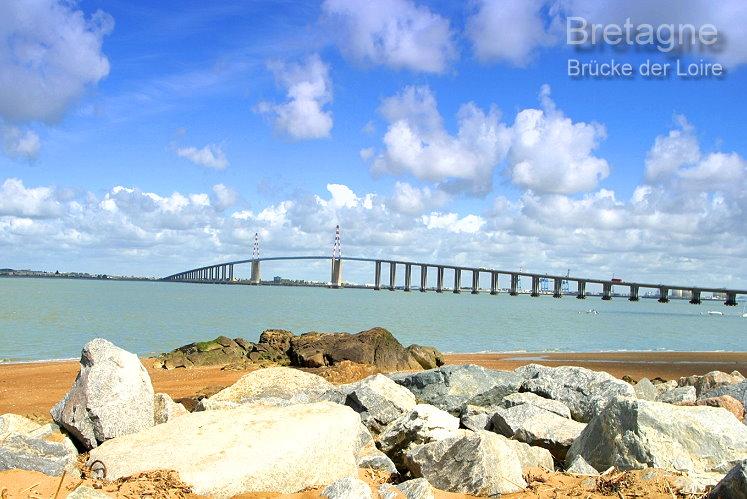 Die Saint-Nazaire-Brücke über die Loire